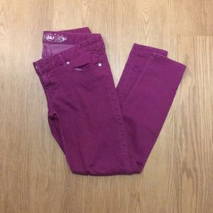 Magenta Express Skinny Jeans